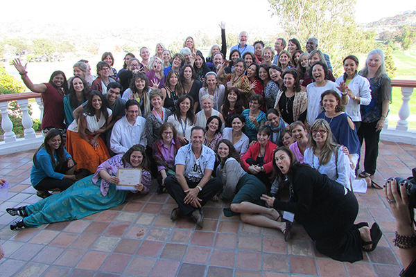 large group of certified teachers smiling